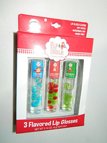 Elf on a Shelf 3 flavored Lip glosses