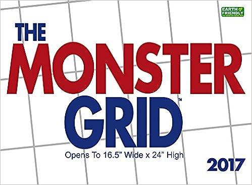 Amazon.com: Monster Grid 2017 Wall Calendar (9781772180824 ...