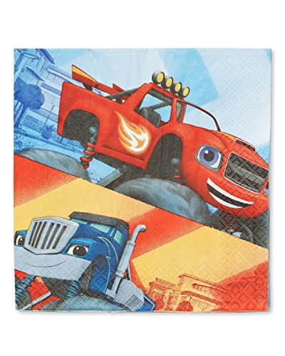 Snack Machine Costume (American Greetings Blaze and The Monster Machines Lunch Napkins (16 Count))