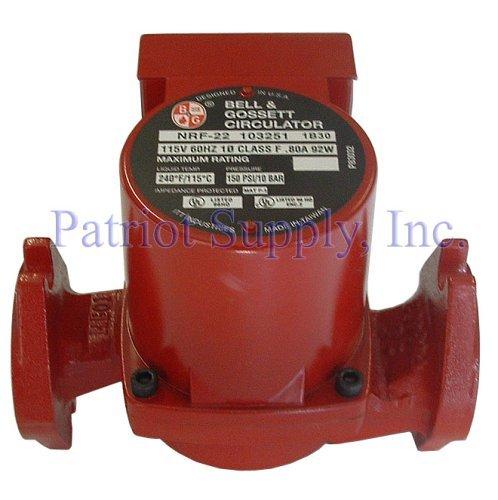 - Bell & Gossett HVAC Circulator Pump 103251