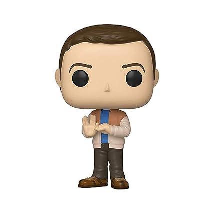 Funko- Pop Vinilo: Big Bang Theory S2: Sheldon Figura Coleccionable, Multicolor (38580)