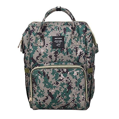Happy Luoka Multi-Functional Diaper Bag Backpack for Baby Ca