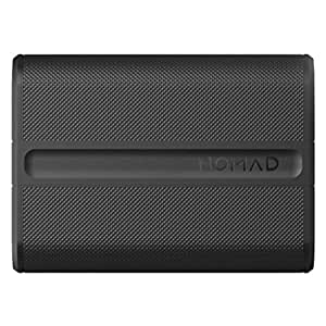 Nomad Advanced Trackable PowerPack - Rugged and Powerful - Advanced 9000mAh Backup Battery - Integrated Bluetooth Tracking - Locate with Tile