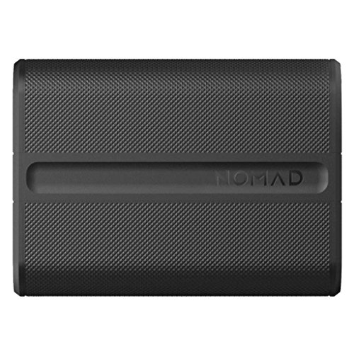 Nomad Advanced Trackable PowerPack - Rugged and Powerful - Advanced 9000mAh Backup Battery - Integrated Bluetooth Tracking - Locate with Tile by Nomad