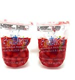 Goblies Throwable Red (2 Pack), 80 Paint Balls