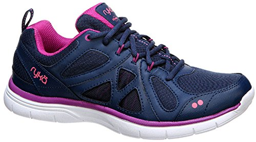 B Berry Black Training Pink Cross Vivid Divine M Ryka Women's Calypso Blue Insignia Coral US f4qYHpw