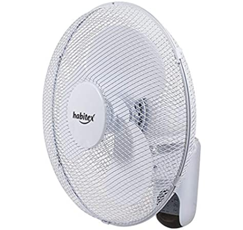 Habitex Ventilador de Pared c/Mando a Distancia VTP-50: Amazon.es ...