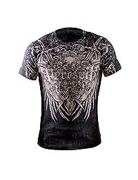Mens Peresvit Glory MMA Swords & Skull Cotton T-shirt
