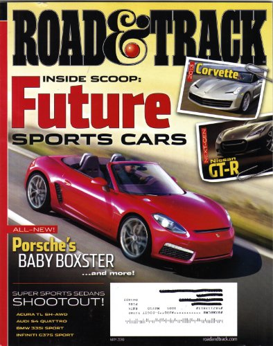 Road and Track May 2010 magazine (Road and Track, Volume 61 Number (Control Tech Team Issue)
