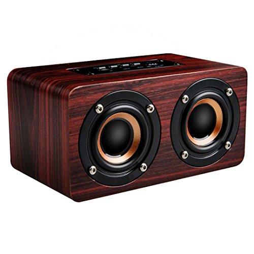 Price comparison product image Boofab W5 TV Version FM Radio Microphone HIFI Sound Quality Bluetooth Speaker (B)