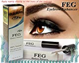 FEG Eyebrow enhancer. The most powerful eyebrow growth Serum 100% Natural. Promote rapid growth of eyelashes. 100% Original with Anti-Fake sticker!!!