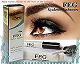 FEG Eyebrow enhancer. The most powerful eyebrow growth Serum 100% Natural. Promote rapid growth of eyelashes. 100% Original with Anti-Fake sticker!!!