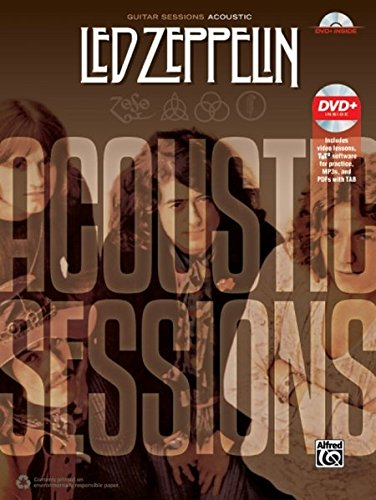 Guitar Sessions -- Led Zeppelin Acoustic: Book & (Play Acoustic Rock)