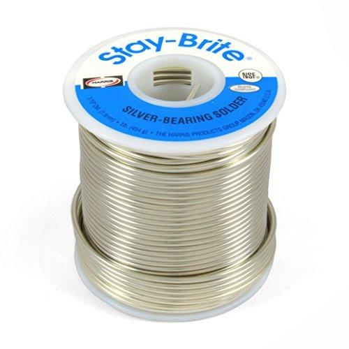 Harris Stay-Brite Silver Bearing Solder 1/16'' x 1 lb
