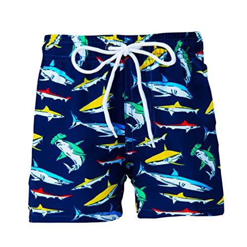 Uideazone Toddler Kids Boys Fast Drying Summer Swim Trunks Surf Board ()