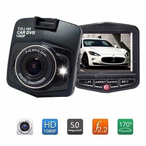 "GT300 2.4"" Full HD 1080P Car DVR Vehicle Camera Video Recorder Dash Cam Black"