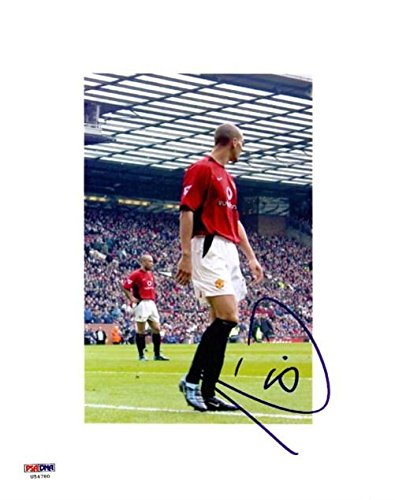 Signed Rio Ferdinand Photograph - 8x10 U54780 - PSA DNA Certified - Autographed  Soccer Photos at Amazon s Sports Collectibles Store 88a0da10186