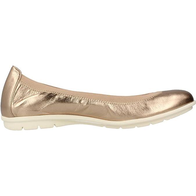 Mocasines para Mujer, Color Gold, Marca PRETTY BALLERINAS, Modelo Mocasines para Mujer PRETTY BALLERINAS 45012 Gold: Amazon.es: Zapatos y complementos