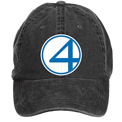 Waverly Square Print (Tommery Unisex Fantastic Four Fant4stic Blue and White Hip Hop Baseball Caps)