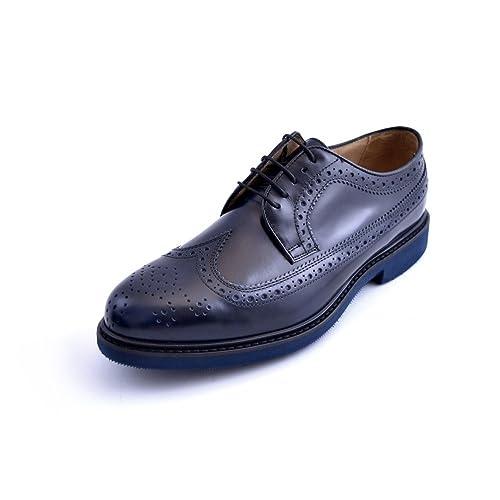 Zapatos Azul Turquesa es Amazon Para Hombre Cordones De Soldini qdC11