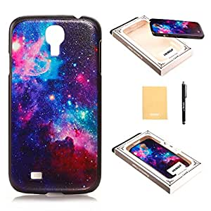 VKKING(TM) Angel Wings Galaxy Space Universe Hard Back Case Cover Skin For Samsung Galaxy S4,With Screen Protector,Stylus and Cleaning Cloth XXPC !F
