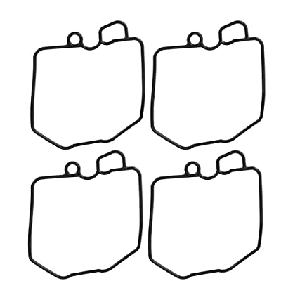 Shaped O-Ring Float Bowl Gasket For Honda CB650 CB750 CB900 CB1000 CB1100 GL1100 (4-Pack): Automotive