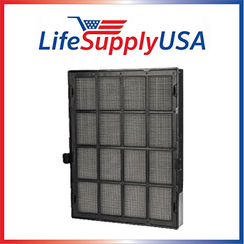LifeSupplyUSA True HEPA Replacement Filter Fits Winix 114190 Size 21