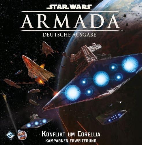 Fantasy Flight Games FFGD4319 Star Wars: Armada - Juego de Mesa (Contenido en alemán): Amazon.es: Juguetes y juegos