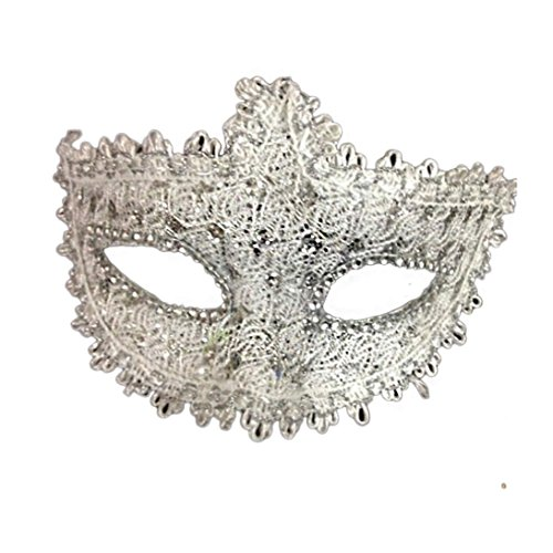 Sunward Women Crystal Rhinestones Mask Masquerade Venetian Party Ball Eye Mask (F) (Venetian Eye Mask)