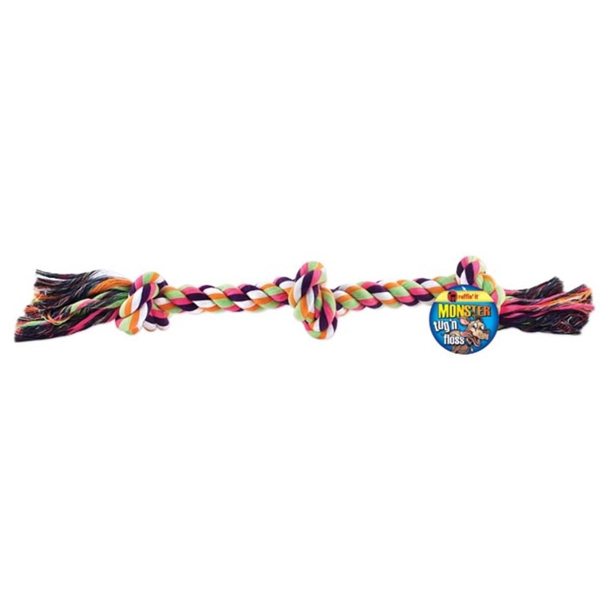 Monster Tug 'N Floss Rope 24  Outdoor