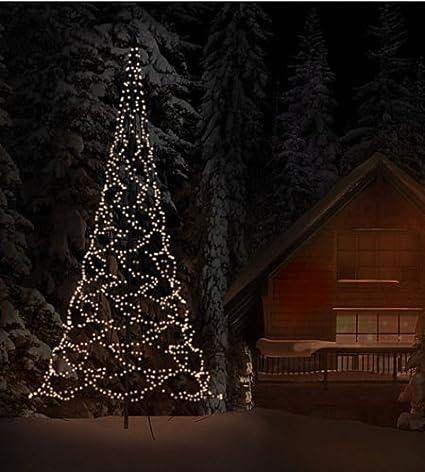 7674119079c Fairy Bell mástil de extremos de barras para árbol de Navidad LED x 600 cm   Amazon.es  Iluminación