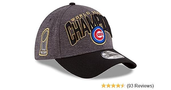 f7f150c8885 Amazon.com  Chicago Cubs 2016 World Series Champions Locker Room Hat 13134   Sports   Outdoors