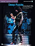 img - for Deep Purple - Greatest Hits: A Step-by-Step Breakdown of the Guitar Style and Techniques of Ritchie Blackmore (Guitar Signature Licks with Audio Online) book / textbook / text book