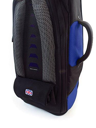 Fusion Premium Series (FB-PW-02-B) - Tenor Saxophone Gig Bag, Black/Blue by Fusion (Image #5)