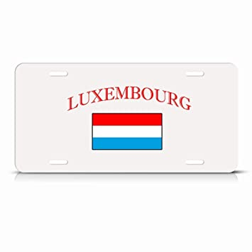 HUNGARY FLAG HUNGARIAN COUNTRY Metal License Plate Frame Tag Holder Two Holes