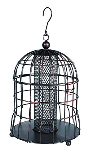 Gardman BA09604 Bird Feeder Peant Squirrel Resistant, Bronze