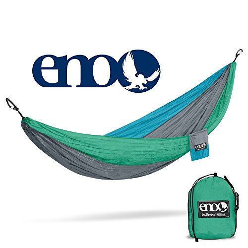 Price comparison product image Eagles Nest Outfitters ENO DoubleNest Hammock, The Original Portable Outdoor Camping Hammock for Two, Special Edition Colors, PCT