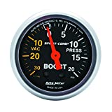 Auto Meter 3301 Sport-Compact Mechanical Boost / Vacuum Gauge