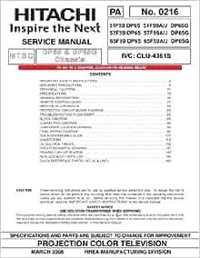 Hitachi 57f500 manuals.