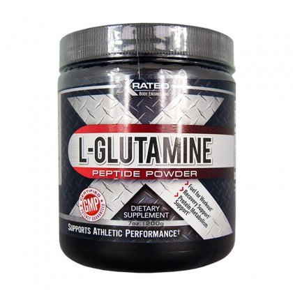 Xrated Body Engineering L-Glutamine Peptide Powder (200 grams)