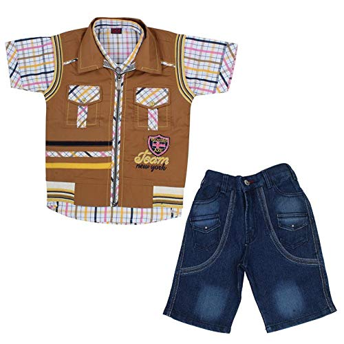 b0f03237e8a9 SONVI Baba Suit for 3-4 Year Baby Dress for Boys