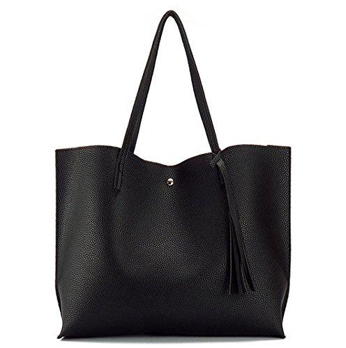 Woman Shoulder Bag Female High Capacity Tassel Handbag New Arrival Artificial Leather Hand Bag Designer Ladies Totes