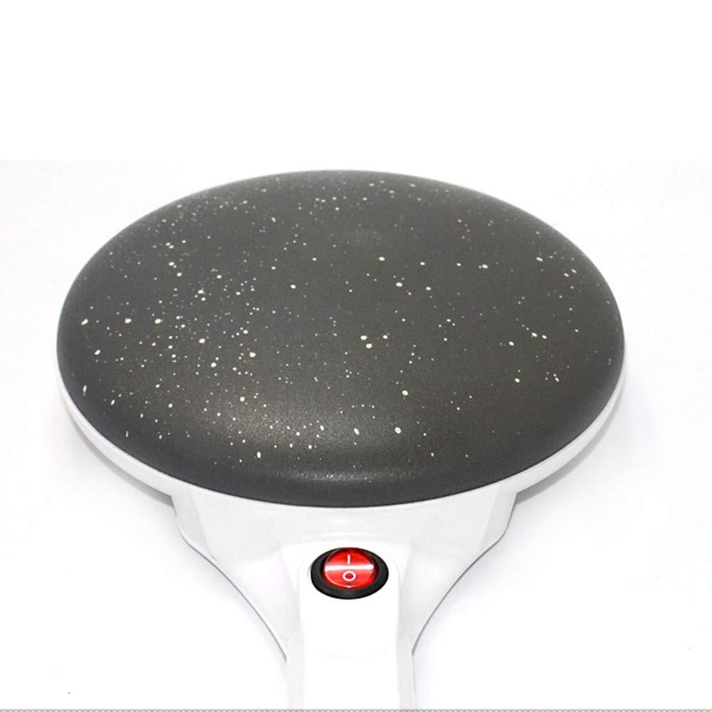 Festnight Elettrico Crepe Maker Pizza Pancake Machine Piastra Antiaderente Teglia da Forno Macchina da Cucina Utensili da Cucina Spina Europea