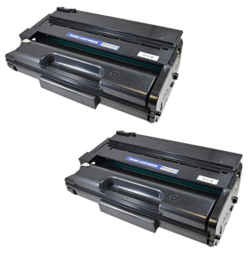 3410 Series (ECOMAX Compatible SP3400HA Black High Yield Toner Cartridge, Replace Ricoh 406465 5,000 Page, For Use In RICOH Aficio SP 3400, SP 3410 Series Printers (2))