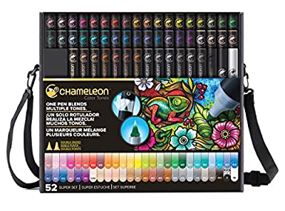 Chameleon Art Products, 52-Pen Complete Set