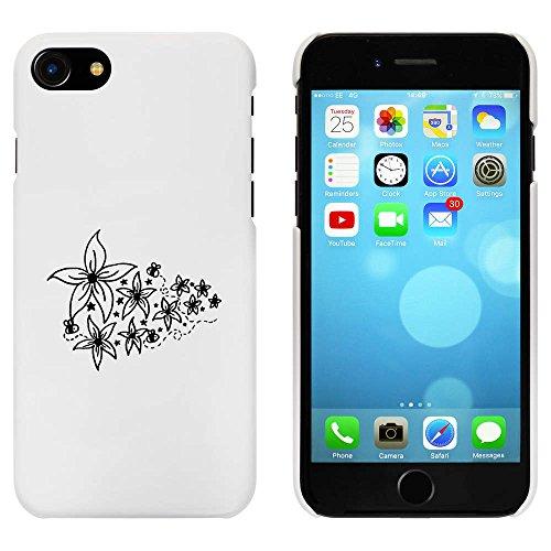 Blanc 'Fleurs et Abeilles' étui / housse pour iPhone 7 (MC00062580)