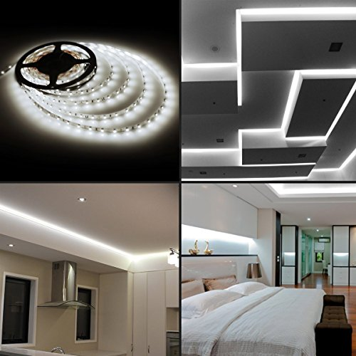 LE-164ft-12V-Flexible-LED-Light-Strip-LED-Tape-300-Units-SMD-2835-LEDs-Non-Waterproof-LED-Ribbon-LED-Light-Strips-For-HomeKitchenCarBar-Power-Adapter-Included