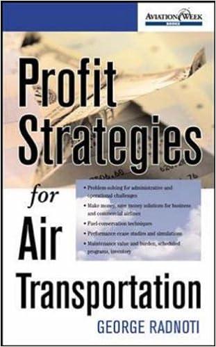 Profit Strategies for Air Transportation (Aviation Week Books)
