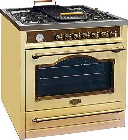 Kaiser HGE 93555 ElfEm - Cocina eléctrica (90 cm, horno eléctrico ...