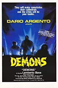 Demons Poster (11 x 17 Inches - 28cm x 44cm) (1985) Style A